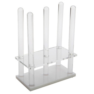 Rodac Plate Rack, Acrylic, for (28) 60-65mm plates