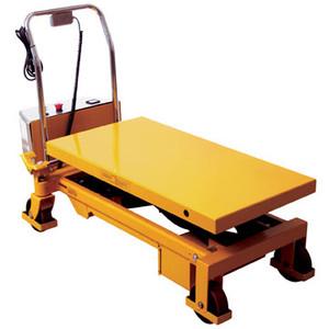 Wesco 273712 Powered Lift Scissors Table