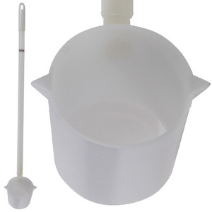 Large Dipper, HDPE, 32oz with 3 Ft Handle