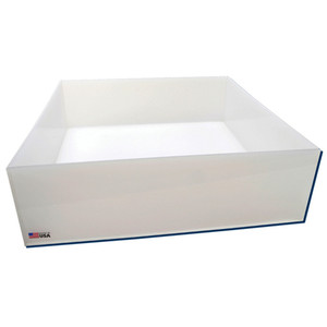 Rectangular Lab Tray, 39 Liter, Autoclavable PP, 20 x 20 x 6""