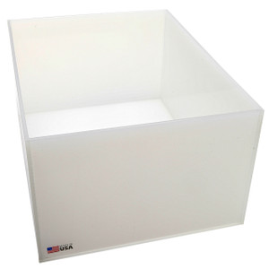 Rectangular Lab Tray, 25 Liter, Autoclavable PP, 12 x 16 x 8""