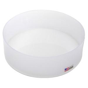 "Round Lab Tray, HDPE, 12 x 3"", 5.5 Liters"