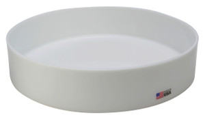 """Round Lab Tray, HDPE, 15 x 3"""", 8.7 Liter"""