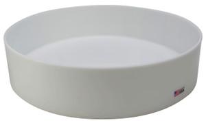 """Round Lab Tray, HDPE, 18 x 4"""", 16.7 Liter"""