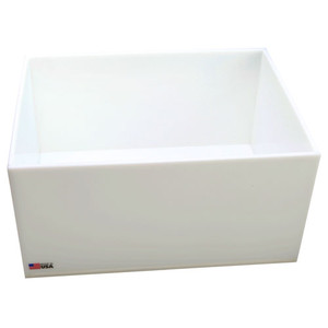Rectangular Lab Tray, 9.5 Liter, HDPE, 12 x 16 x 3''