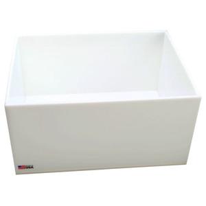 Rectangular Lab Tray, 9.5 Liter, HDPE, 12 x 16 x 3''