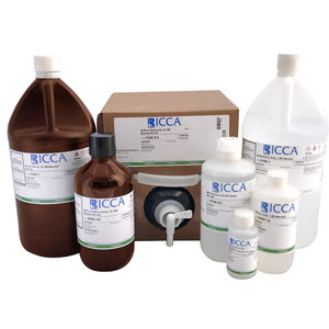 Bromate-Bromide Solution, 0.500 Normal (N/2), 0.250 Molar as Br2, 4 Liter Amber Glass bottle