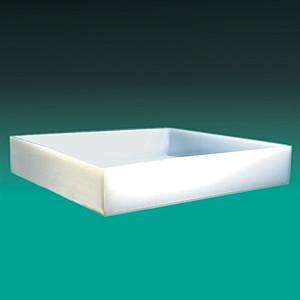 Rectangular Lab Tray, 26 Liter, HDPE, 18 x 22 x 4''