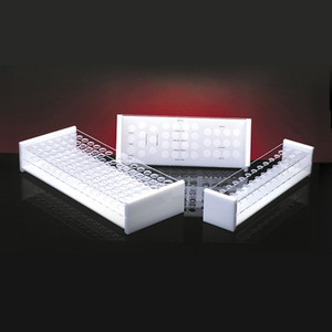 Blood Bank Rack for Cross Matching, 38-Place, case/6