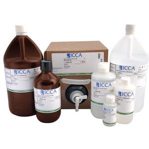 EDTA Titrant, 0.00100 Molar (M/1000), 1 mL = 0.1 mg CaCO3 (0.04 mg Ca), 4 Liter