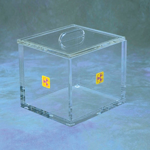 Small Beta Storage Box with Lid, Desktop Model, 6 x 6""
