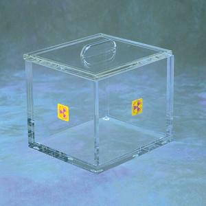 "Small Beta Storage Box with Lid, Desktop Model, 6 x 6"""