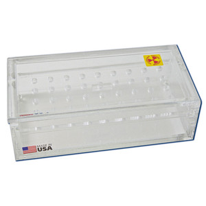 Radiation Protection Beta Sample Box, 36-Place for 0.5mL Microtubes