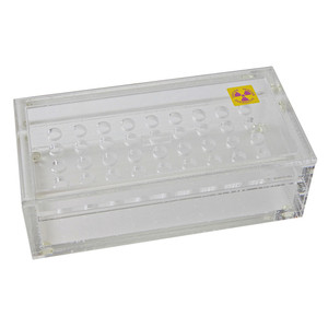 Radiation Protection Beta Sample Box, 36-Place for 2.5mL Microtubes