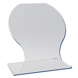 "Biohazard Radiation Protection Beta Shield, Acrylic, 20"" x 20"""