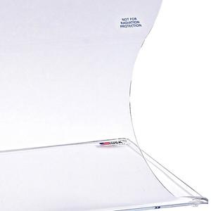"Bench Top Splash Shield, Acrylic, 20"" W x 12"" D x 20"""