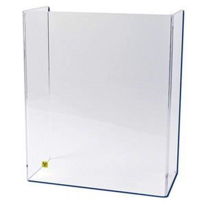 "Large U-Frame Beta Radiation Protection Shield, 24 "" x 20"""