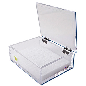 "Beta Emitter Storage Box with Foam Rack, 3 "" x 11 "" x 8"""