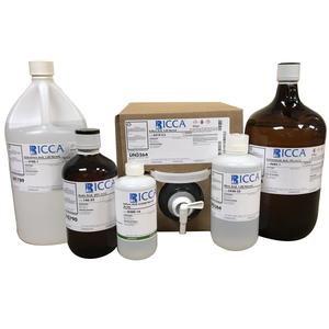 Hydrochloric Acid, 33.33% (w/v), with 0.0005% (w/v) Methyl Orange Indicator, 4 Liter