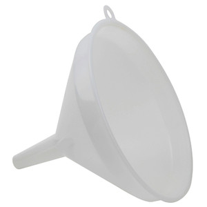 Lab Funnels, HDPE, 245 mm, case/12