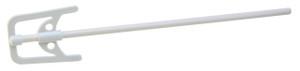 Polypropylene stirrer with U Shape Blade, 65 x 78mm, pack/5