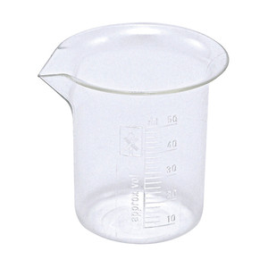 Griffin Beakers, PMP, 50mL, case/40
