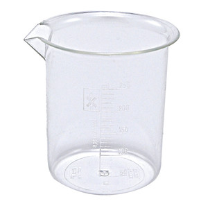 Griffin Beakers, PMP, 250mL, case/40