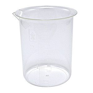 Griffin Beakers, PMP, 2000mL, case/4