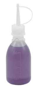 Dropping Bottle with Long Spout, LDPE, 100mL, case/10