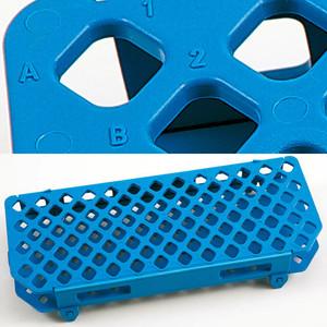 Blue Micro Centrifuge Tube Rack, 1.5mL, pack/5