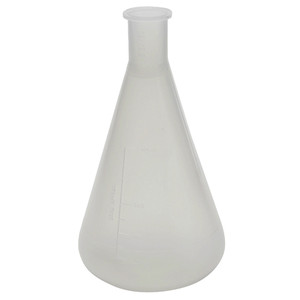 500mL Erlenmeyer Flask, Polypropylene, case/4