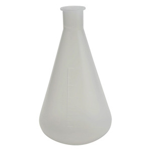 1000mL Erlenmeyer Flask, Polypropylene, pack/2