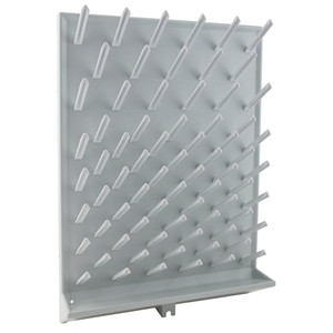 Glassware Drying Rack, 72 pegs, 18x25""