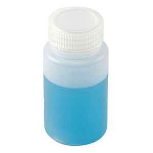 Wide Mouth Lab Bottles, HDPE, 4oz, case/72