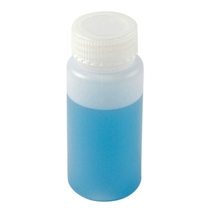 Wide Mouth Lab Bottles, HDPE, 8oz, case/72