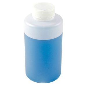 Wide Mouth Lab Bottles, HDPE, 64oz, case/6