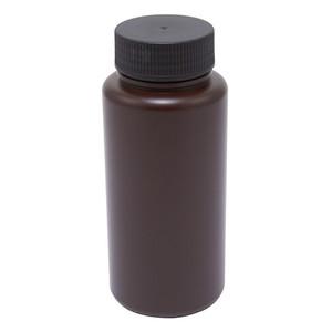 Wide Mouth Lab Bottles, HDPE, Amber 32oz, case/24