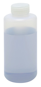 Lab Bottles, LDPE, Wide Mouth 32oz, bulk packaged, case/55
