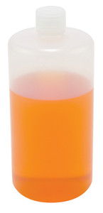 Lab Bottles, LDPE, Narrow Mouth, 32oz, case/24