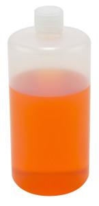 Lab Bottles, LDPE, Narrow Mouth, 32oz, bulk packaged, case/55
