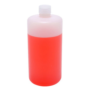 Lab Bottles, HDPE, Narrow Mouth, 32oz, case/24