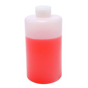 Lab Bottles, Narrow Mouth HDPE, 64oz, case/6