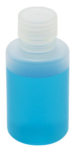 Lab Bottles, Narrow Mouth, Polypropylene, 4oz, case/72