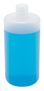 Lab Bottles, Narrow Mouth, Polypropylene, 32oz, case/24