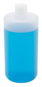 Lab Bottles, Narrow Mouth, Polypropylene, 32oz, bulk packaged, case/55