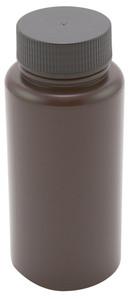 Amber Wide Mouth Bottles, Polypropylene 1000mL, case/25