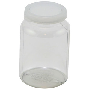 Lightweight PET Bottles with Snap Caps, 100cc, case/50