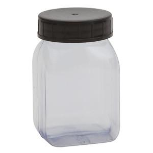 Wide Mouth Bottles, PVC, 100mL, case/72