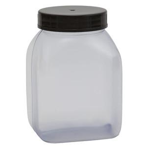 Wide Mouth Bottles, PVC, 300mL, case/48