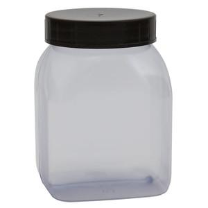 Wide Mouth Bottles, PVC, 500mL, case/48